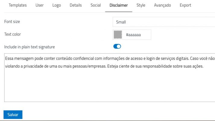 officemail-preferencia-identidade-assinatura-disclaimer